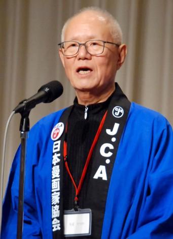 『第43回日本漫画家協会賞』贈賞式に出席したちばてつや氏 (C)ORICON NewS inc.