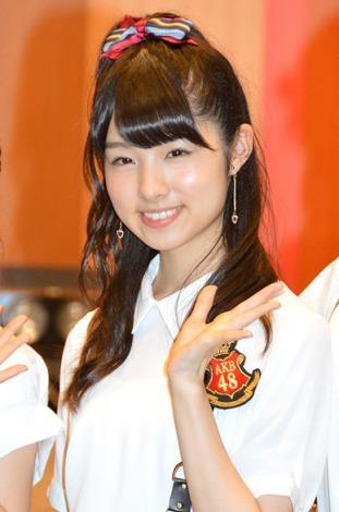 羽田空港でこけら落とし公演を行ったAKB48・岩立沙穂 (C)ORICON NewS inc.