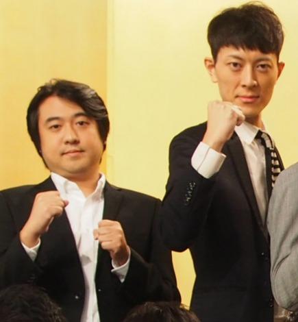 『平成26年度NHK新人お笑い大賞』で意気込みを語るジグザグジギー(C)ORICON NewS inc.