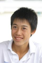 2003年11月のインタビュー時(当時14歳)の貴重写真(C)テニスクラシック・ブレーク