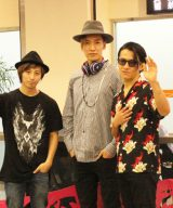 『a-nation taiwan』出演のため台湾入りしたw-inds.の3人 (C)oricon ME inc.