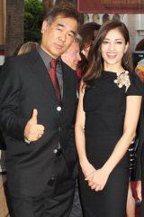 黒木メイサ、海外映画祭に初参加「素敵な反応をもらえた」(左は続編宣言をした北村龍平監督)