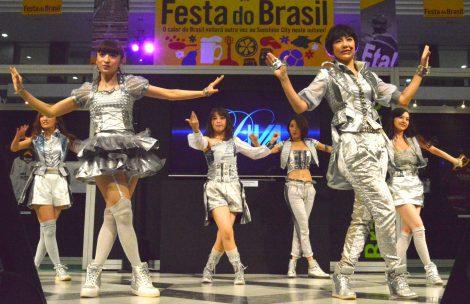 小室哲哉プロデュースの新曲を披露したDIVA=公開放送イベント『復活 VIVA DIVA!』 (C)ORICON NewS inc.