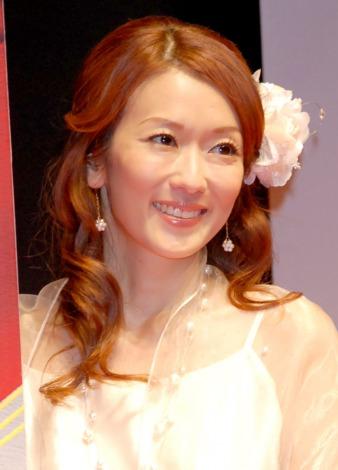 サムネイル ブログで再婚を報告した大河内奈々子 (C)ORICON NewS inc.