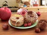 ミスタードーナツの「Mr.CroissantDonut (ミスタークロワッサンドーナツ)」に、秋の新フレーバー3種が登場