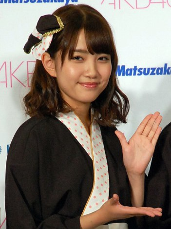 大丸松坂屋百貨店『AKB48コラボおせち』発表会に出席した加藤玲奈 (C)ORICON NewS inc.