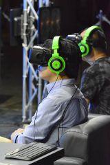 『東京ゲームショウ2014』ではVR(仮想現実)に対応したヘッドマウントディスプレイを本格的に展示