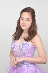 10月スタートのドラマ『黒服物語』にキャバクラ嬢役で出演する筧美和子(C)テレビ朝日