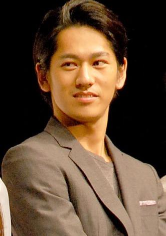 映画『クローバー』完成披露試写会に出席した永山絢斗