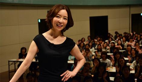 サムネイル J:COMの女性限定美容イベントに特別講師として登場した真矢みき (C)oricon ME inc.