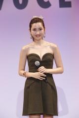 『美フェス by VoCE』に登壇した紗栄子