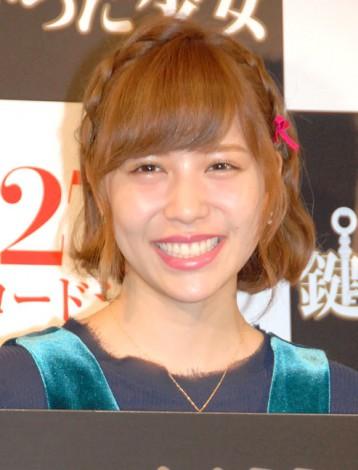 映画『記憶探偵と鍵のかかった少女』公開直前イベントに出席した河西智美 (C)ORICON NewS inc.