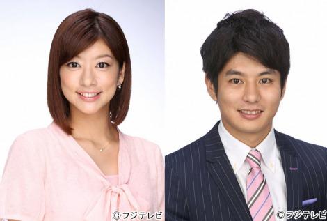 サムネイル 『めざましテレビ』で結婚を報告した生野陽子アナ&中村光宏アナ