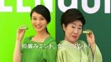 武井咲と中村玉緒が出演するロッテ『グリーンガム』新CM
