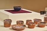 「東北 器の絆ギャラリーカフェ」には、親子陶芸教室で作られた101の器を展示 (C)oricon ME inc.