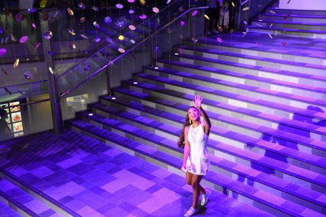 「OMOTESANDO HILLS SPECIAL PARTY with LUX」に登場したCrystal Kay (C)oricon ME inc.