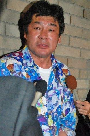 ET-KING・TENNさん通夜へ弔問に訪れた赤井英和 (C)ORICON NewS inc.