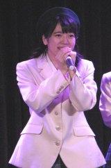 「生誕22年祭」公演で卒業を発表した制服向上委員会・小川杏奈(20)。(C)De-View