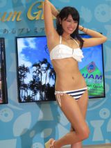 「Beach Trip in Guam 三愛水着コレクション」 2014三愛水着イメージガールを卒業する久松郁実 (C)ORICON NewS inc.