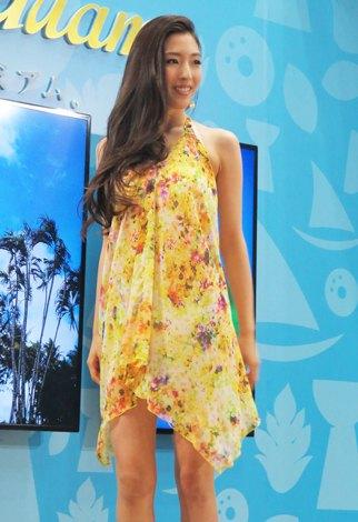 「ツーリズムEXPOジャパン2014」グアムブースにて開催した「Beach Trip in Guam 三愛水着コレクション」(C)ORICON NewS inc.