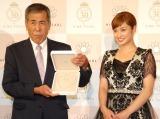 『ベストパールプリンセス2014』授与式に出席した平愛梨 (C)ORICON NewS inc.