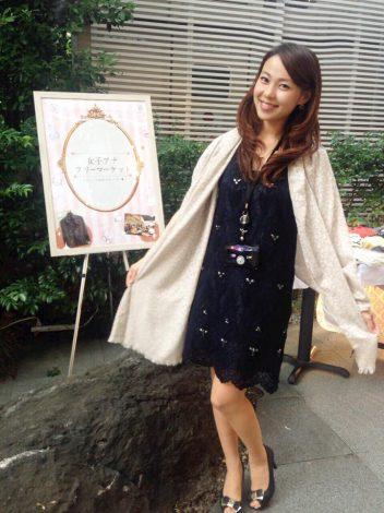 サムネイル 女子アナフリーマーケットを企画した長崎真友子