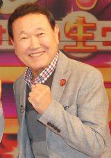 TOKYO MX『バラいろダンディ』生放送後に取材に応じた板東英二 (C)ORICON NewS inc.