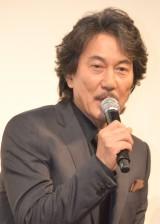 主演映画『蜩ノ記』の試写会で号泣していたと暴露された役所広司 (C)ORICON NewS inc.