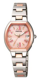 「ときめくとき。」がテーマの女性向け腕時計『wicca(ウィッカ)』(税抜3万9000円)