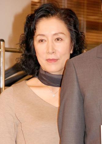 ドラマ『きょうは会社休みます。』制作発表会見に出席した高畑淳子 (C)ORICON NewS inc.