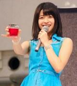 5thシングル「背伸び/伊達じゃないよ うちの人生は」発売記念イベントを行ったJuice=Juice・金澤朋子