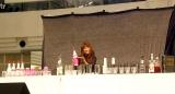 フレアバーテンダーの富田晶子氏=5thシングル「背伸び/伊達じゃないよ うちの人生は」発売記念イベント