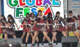 『グローバルフェスタJAPAN2014』に出演したAKB48、平田梨奈センターで大声ダイヤモンド英語バージョンを披露 (C)ORICON NewS inc.