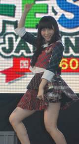 『グローバルフェスタJAPAN2014』に出演した高橋朱里 (C)ORICON NewS inc.