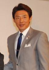 メインキャスターを務める松岡修造=『グランプリシリーズ・ファイナル2014』記者会見 (C)ORICON NewS inc.
