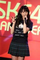 SKE48劇場デビュー6周年「前夜祭」の記念トークショーに参加した松井玲奈(C)AKS