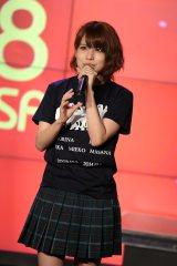 SKE48劇場デビュー6周年「前夜祭」の記念トークショーに参加した中西優香(C)AKS