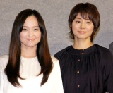 入れ替わる役に苦戦したことを明かした(左から)永作博美、石田ゆり子 (C)ORICON NewS inc.