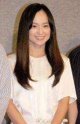NHKドラマ『さよなら私』の試写会に出席した永作博美 (C)ORICON NewS inc.