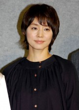NHKドラマ『さよなら私』の試写会に出席した石田ゆり子 (C)ORICON NewS inc.