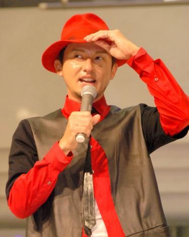 ニューシングル「New Position」発売記念イベントを行ったDA PUMP・ISSA (C)ORICON NewS inc.