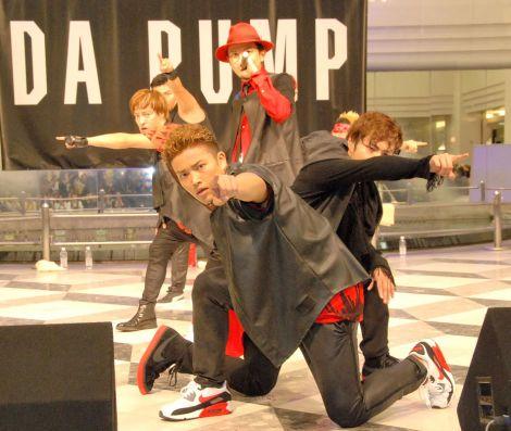 ニューシングル「New Position」発売記念イベントを行ったDA PUMP (C)ORICON NewS inc.
