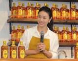 サントリー『角ハイボール CMのあのお店』オープニングイベントに出席した井川遥 (C)ORICON NewS inc.