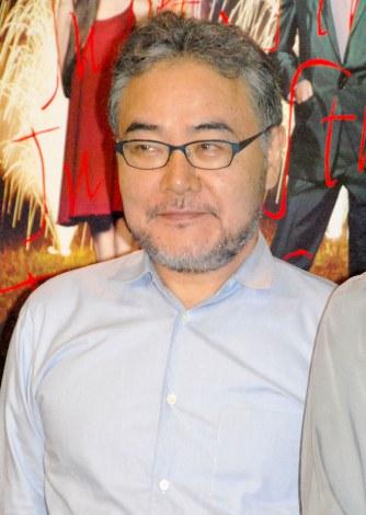 舞台『ジュリエット通り』プレスコール後会見に出席した演出家・岩松了氏 (C)ORICON NewS inc.