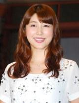 ブログで妊娠を報告した安めぐみ (C)ORICON NewS inc.