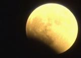 地球の影を受け始める満月 (C)ORICON NewS inc.