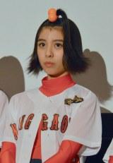 SUPER☆GiRLS・田中美麗=映画『ソフテン!』舞台あいさつ (C)ORICON NewS inc.