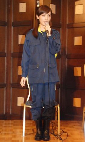 テレビ東京系ドラマ『新・刑事吉永誠一』記者会見に出席した平山あや (C)ORICON NewS inc.