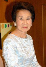 第1回NHK紅白歌合戦に出場した唯一の 存命歌手・菅原都々子 (C)ORICON NewS inc.