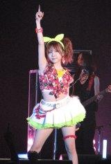 ライブ・イベント『本格音楽女子祭・其の弐』に出演したLoVendoЯ・田中れいな。(C)De-View